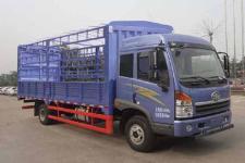 青岛解放国四单桥仓栅式运输车165马力5-10吨(CA5168CCYPK2L2E4A80-1)