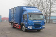 青岛解放国五单桥厢式运输车154马力5-10吨(CA5168XXYPK2L2E5A80-3)