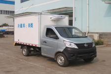 长安小型冷藏车/上蓝牌国五冷藏车