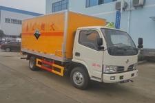 东风国五4米2腐蚀性危险物品厢式运输车