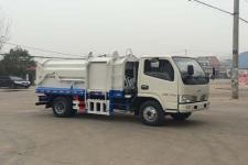 国五东风轻卡压缩式对接垃圾车  13872879577