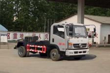 东风国五5立方钩臂垃圾车