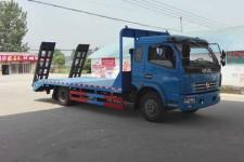 东风国五多利卡平板运输车5米2平板运输车