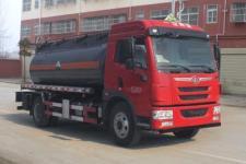 解放J5腐蚀性物品罐式运输车价格