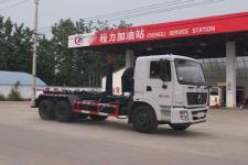 国五东风后双桥车厢可卸式垃圾车