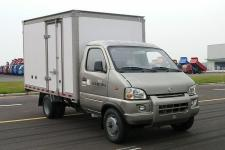 四川现代国五单桥厢式运输车87马力5吨以下(CNJ5030XXYRD30SV)