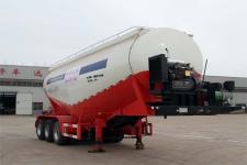 沃顺达9.6米30.2吨3轴下灰半挂车(DR9400GXH)