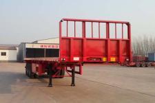沃顺达12米33.3吨3轴平板运输半挂车(DR9401TPB)