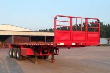 沃顺达10.5米33.5吨3轴平板运输半挂车(DR9403TPB)
