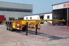 沃顺达12.5米34吨3轴集装箱运输半挂车(DR9405TJZ)