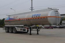 欧曼11.7米33.2吨3轴铝合金易燃液体罐式运输半挂车(HFV9407GRYA)