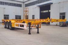 鸿盛业骏12.5米33.7吨3轴集装箱运输半挂车(HSY9400TJZ)