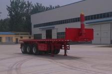 华鲁业兴牌HYX9400ZZXP型平板自卸半挂车