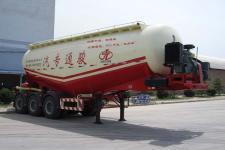 骏通8.9米31.2吨3轴中密度粉粒物料运输半挂车(JF9404GFL)