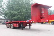 劲越8.5米32吨3轴平板自卸半挂车(LYD9403ZZXP)