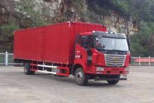 一汽柳特国五单桥厢式运输车182马力5-10吨(LZT5180XXYPK2E5L10A95)