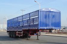 金碧11米33.3吨3轴仓栅式运输半挂车(PJQ9401CCY)