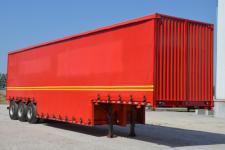 驼山13米31.5吨3轴瓶装饮料运输半挂车(WFG9400CYL)