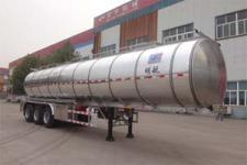 明航12.3米32吨3轴铝合金食用油运输半挂车(ZPS9401GSY)