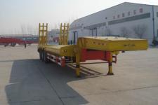巨运12米31吨3轴低平板半挂车(LYZ9400TDP)