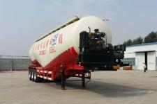腾运12.5米28.7吨3轴低密度粉粒物料运输半挂车(LLT9401GFL)