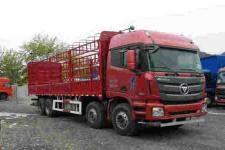 福田欧曼国五前四后八仓栅式运输车299-430马力15-20吨(BJ5319CCY-AA)