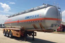 中集牌ZJV9409GRYSZA型易燃液体罐式运输半挂车