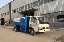 国五东风多利卡自装卸式垃圾车