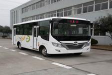 华新牌HM6663CFD5J型城市客车
