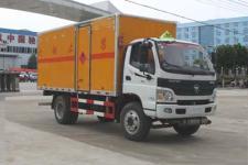 程力威牌CLW5122XRQB5型易燃气体厢式运输车