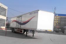 梁山东岳13米27.8吨2轴厢式运输半挂车(CSQ9350XXY)