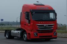 红岩牌CQ4186HTVG391C型集装箱半挂牵引车
