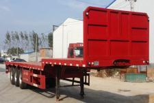 亚中车辆12米35吨3轴平板运输半挂车(WPZ9400TPB)