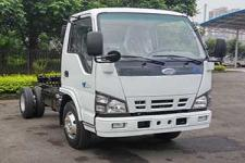 庆铃(繁体)国五单桥货车底盘131马力0吨(QL1070A5FA1Y)
