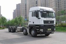 汕德卡国五前四后八货车底盘340马力0吨(ZZ1316N466WE1)