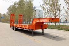 郓腾12米30.5吨3轴低平板半挂车(HJM9400TDP)