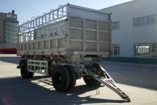 蒙凯7.8米13.7吨2轴铝合金仓栅式运输牵引杆挂车(MK9180CCYLH)