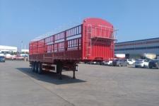 东润12米33.6吨3轴仓栅式运输半挂车(WSH9400CCYD)