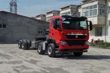 豪沃前四后八货车底盘324马力0吨(ZZ1317V466ME1)