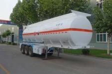 明航10.2米31.9吨3轴腐蚀性物品罐式运输半挂车(ZPS9401GFW)