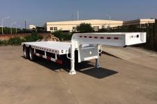 哈盛华舟8.9米22.5吨2轴低平板半挂车(HZT9270TDP)