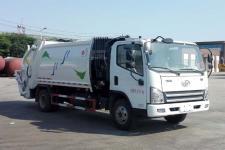 国五解放压缩式垃圾车