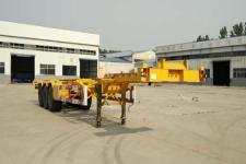 轻旅14米35.1吨3轴集装箱运输半挂车(FZX9401TJZE)
