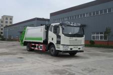 國五解放壓縮式垃圾車