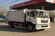 东风多利卡D9后装压缩垃圾车(12立方)
