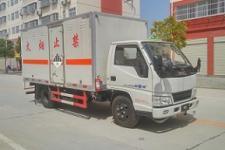 国五江铃杂项危险物品厢式运输车