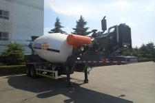 骏通9.9米25.6吨2轴混凝土搅拌运输半挂车(JF9350GJB)