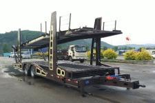 鑫华驰12米10吨2轴中置轴车辆运输挂车(THD9180TCL)