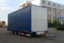 福庆天王10.2米16.4吨3轴厢式中置轴挂车(ZFQ9210XXY)