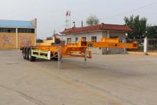 通亚达14米35.3吨3轴集装箱运输半挂车(CTY9405TJZGD)